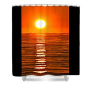 Sunrise Over The Lake 2 Shower Curtain