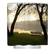 Sunrise Over The Maumee Shower Curtain