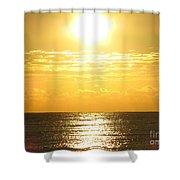 Sunrise Over The Ocean8833 Shower Curtain