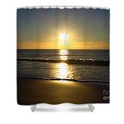 Sunrise Over The Ocean8852 Shower Curtain