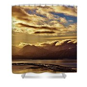 Sunrise Over The Spit Shower Curtain