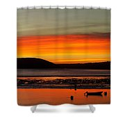 Sunrise, Padstow Shower Curtain
