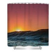 Sunrise Peeking Shower Curtain