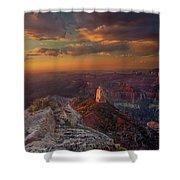 Sunrise Point Imperial North Rim Grand Canyon National Park Arizona Shower Curtain