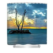 Sunrise Punta Cana #2 Shower Curtain