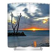 Sunrise Punta Cana Shower Curtain