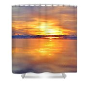 Sunrise Reflections Shower Curtain
