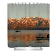 Sunrise Reflections On Colter Bay Shower Curtain