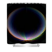 Sunrise Ripples Shower Curtain