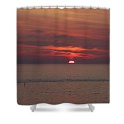 Sunrise Rockport Ma Shower Curtain