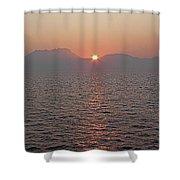 Sunrise Rota Spain Shower Curtain