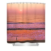 Sunrise Run Shower Curtain