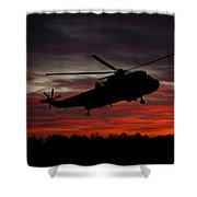 Sunrise Search And Rescue Shower Curtain