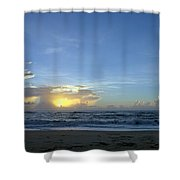 Sunrise Sept 2016 Obx Avon  Shower Curtain