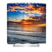 Sunrise Serenades The Beach Shower Curtain