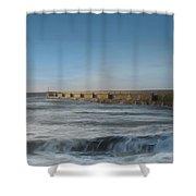 Sunrise Shoreham  Shower Curtain