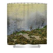 Sunrise Splash Shower Curtain