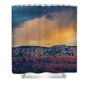 Sunrise Storm Over Sedona Shower Curtain