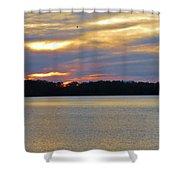 Sunrise-sunset 3 Shower Curtain
