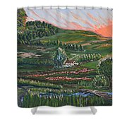 Sunrise Touch Shower Curtain