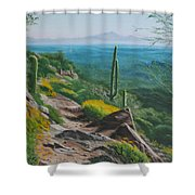 Sunrise Trail Shower Curtain
