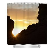 Sunrise Valley Of Fire Shower Curtain