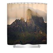 Sunrise View Of Bora Bora Island Shower Curtain