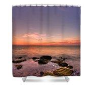 Sunrise Wisp Shower Curtain