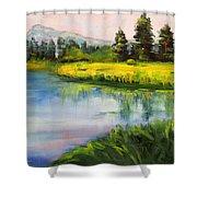 Sunriver Shower Curtain