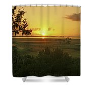 Sun's Up Shower Curtain