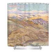 Sunset , John Singer Sargent Shower Curtain