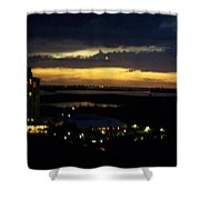 Sunset 0002 Shower Curtain