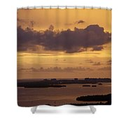 Sunset 0004 Shower Curtain