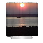 Sunset 0009 Shower Curtain