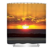 Sunset 0010 Shower Curtain