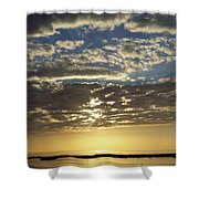 Sunset 0011 Shower Curtain