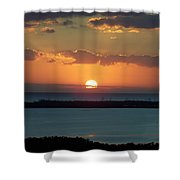 Sunset 0014 Shower Curtain