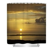 Sunset 0019 Shower Curtain