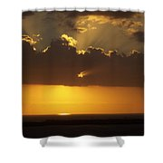 Sunset 0025 Shower Curtain
