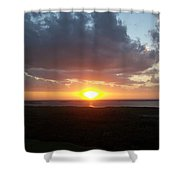 Sunset 0026 Shower Curtain