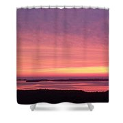 Sunset 0029 Shower Curtain