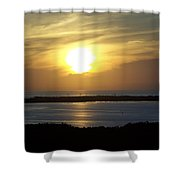 Sunset 0030 Shower Curtain