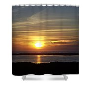 Sunset 0035 Shower Curtain