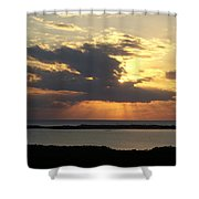 Sunset 0036 Shower Curtain