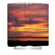 Sunset 0037 Shower Curtain