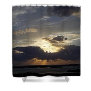 Sunset 0044 Shower Curtain