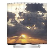 Sunset 0045 Shower Curtain
