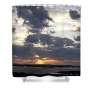 Sunset 0046 Shower Curtain