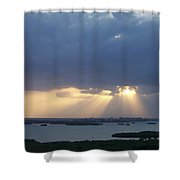 Sunset 0048 Shower Curtain