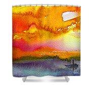 Sunset 02 Shower Curtain